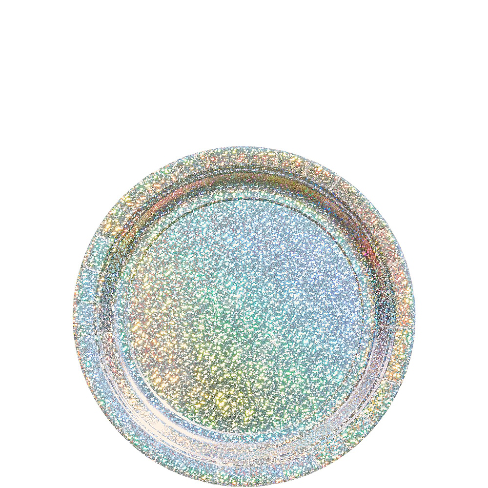 Prismatic Silver Tableware Kit for 16 Guests Image #2