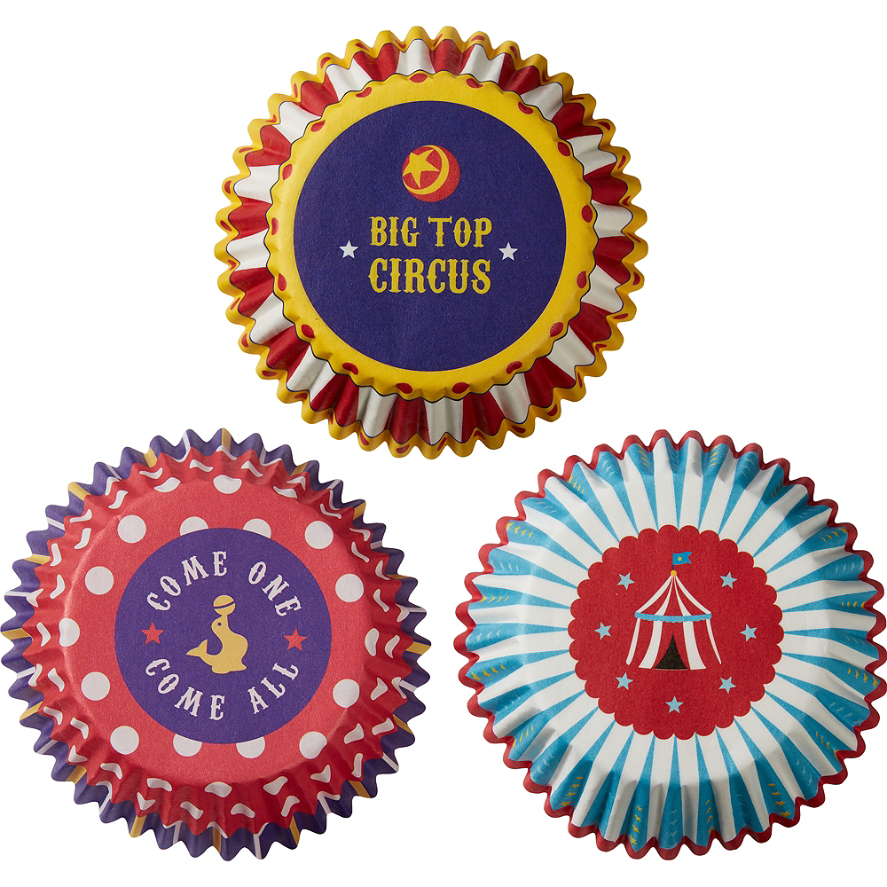 Circus Baking Cups 75ct Image #2