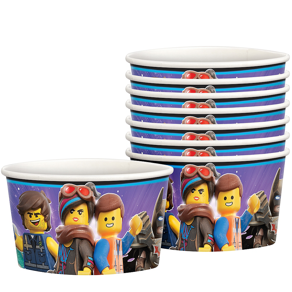 The LEGO Movie 2: The Second Part Treat Cups 8ct Image #1