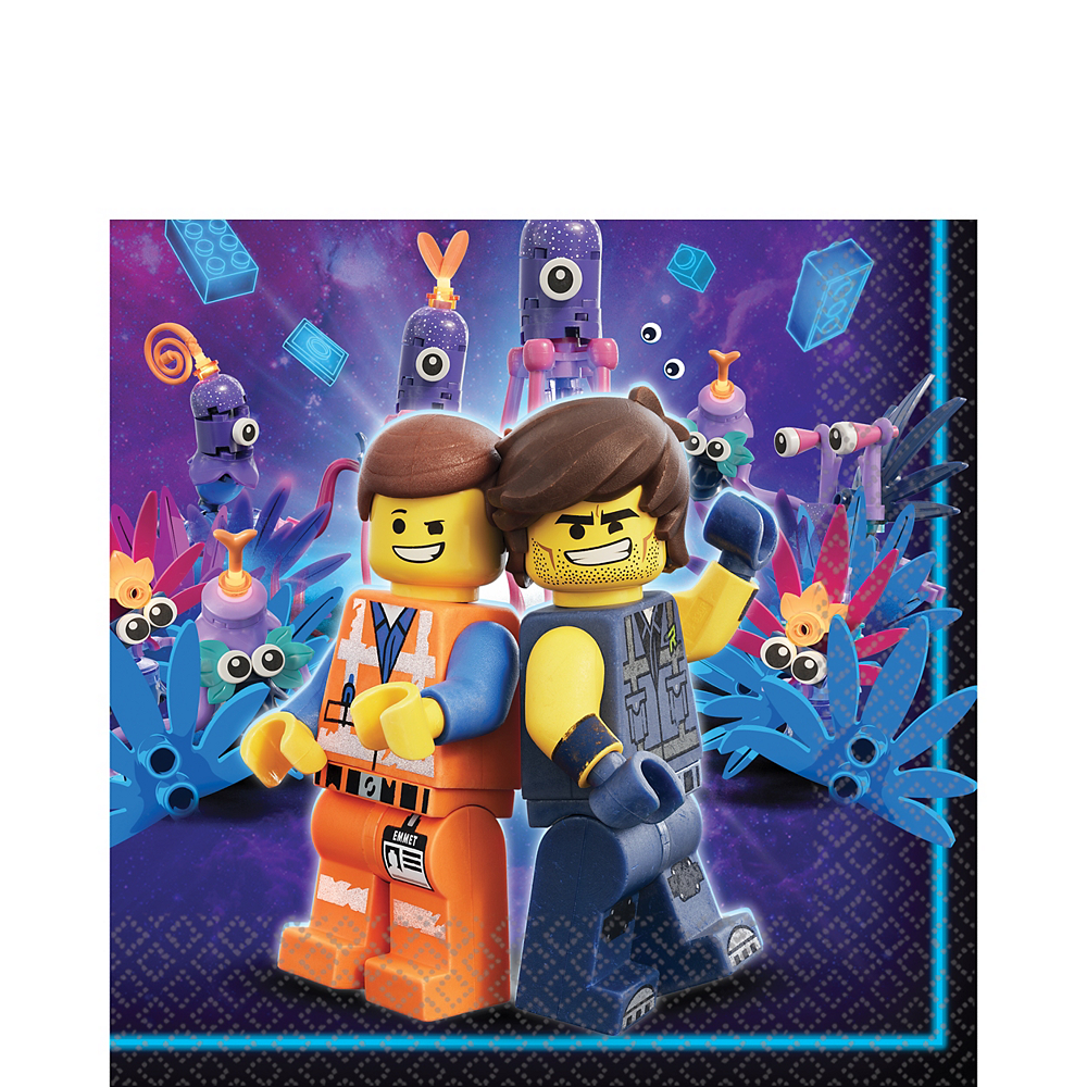 The LEGO Movie 2: The Second Part Lunch Napkins 16ct Image #1