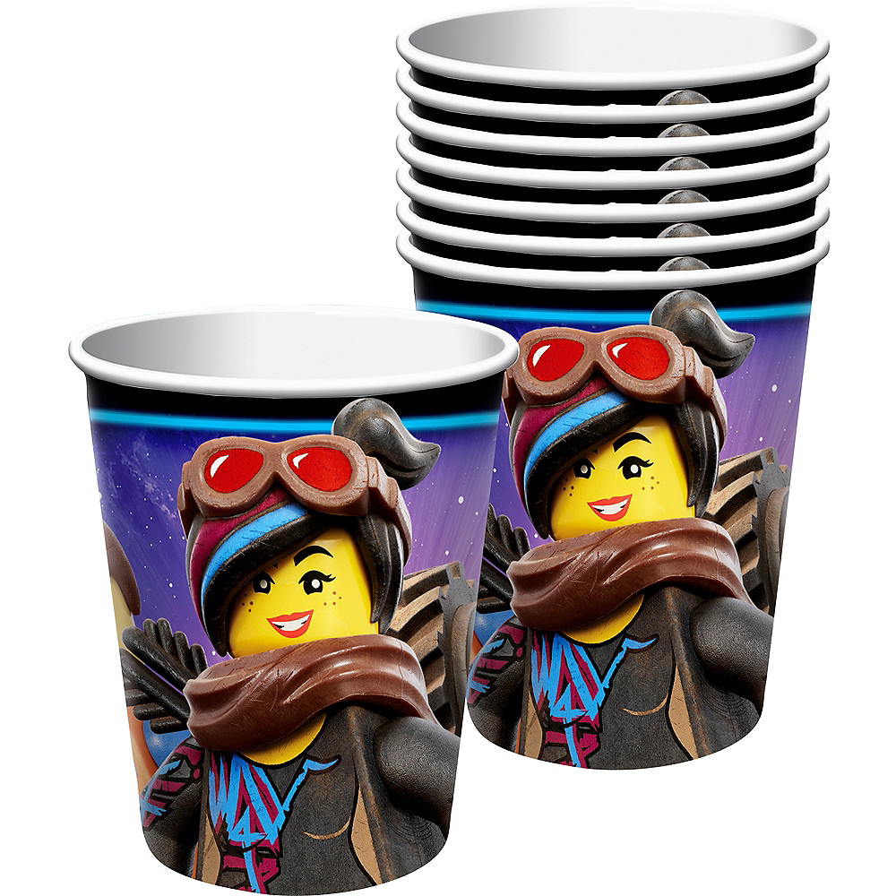 Nav Item for The LEGO Movie 2: The Second Part Cups 8ct Image #1