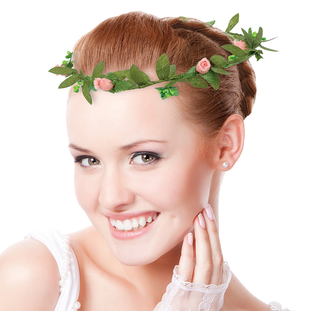 Mint to Be Flower Crown Image #1