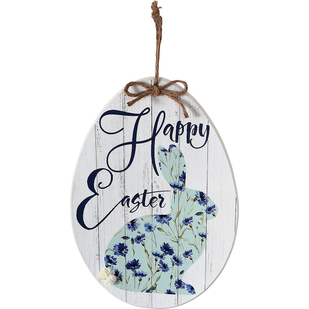 Rustic Easter Egg Sign Image #1
