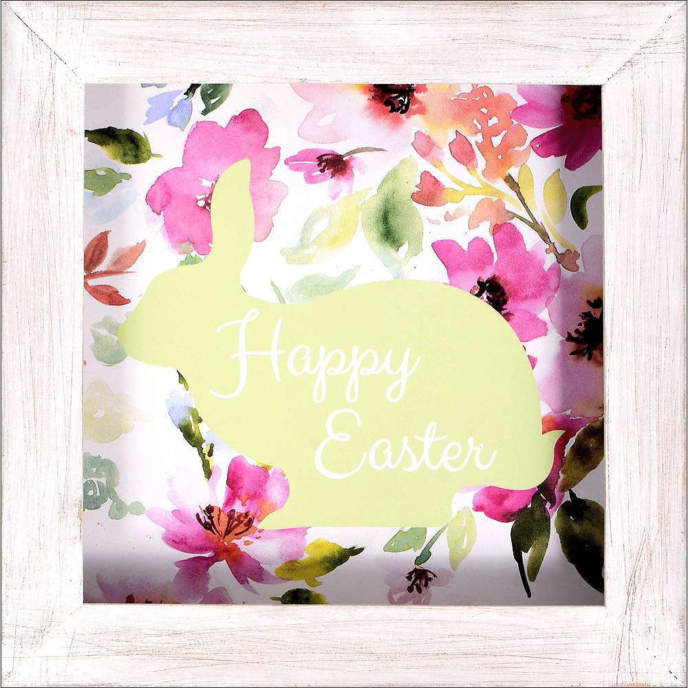 Nav Item for Happy Easter Bunny Block Sign Image #1