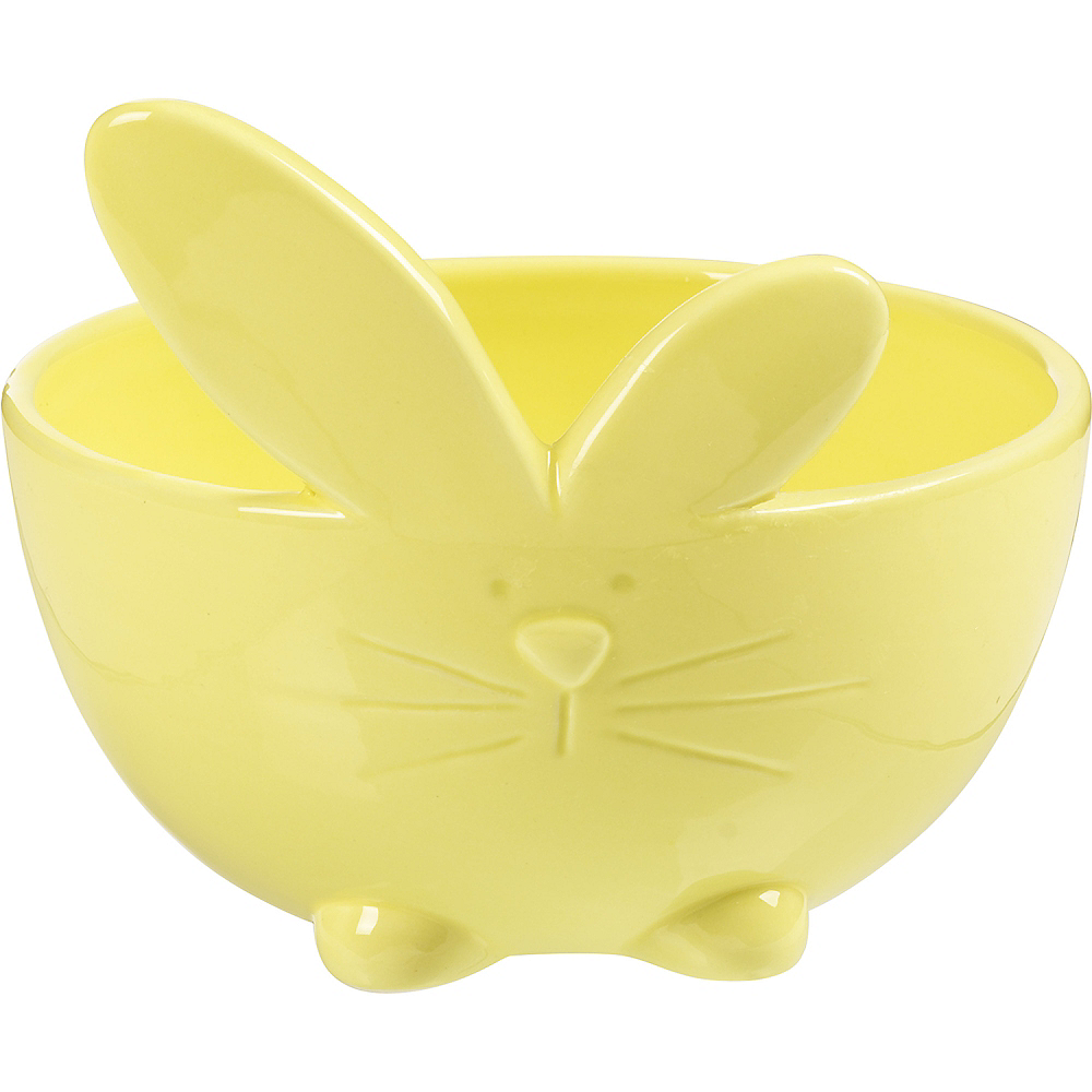 Yellow Bunny Bowl Image #1
