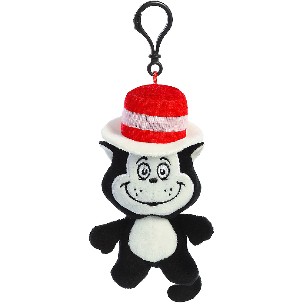 Cat in the Hat Plush Keychain – Dr. Seuss Image #1