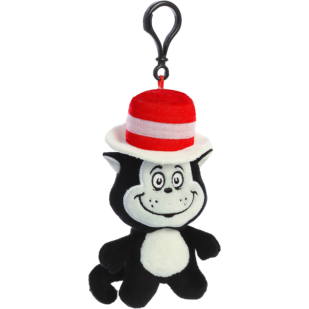 Cat in the Hat Plush Keychain – Dr. Seuss Image #2