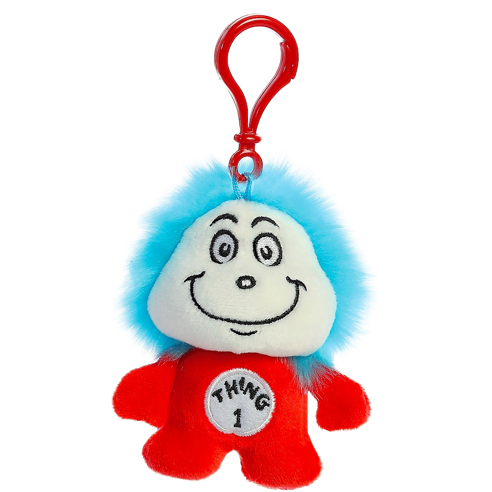 Thing 1 Plush Keychain – Dr. Seuss Image #1