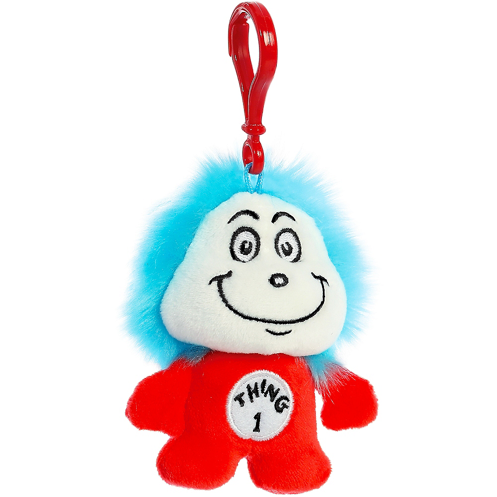 Thing 1 Plush Keychain – Dr. Seuss Image #2