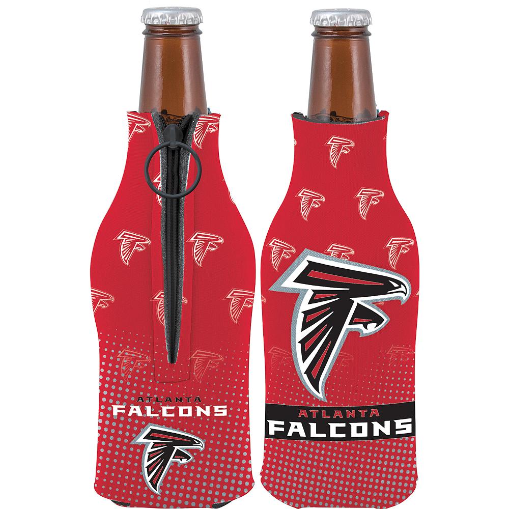 Atlanta Falcons Bottle Coozie Image #1