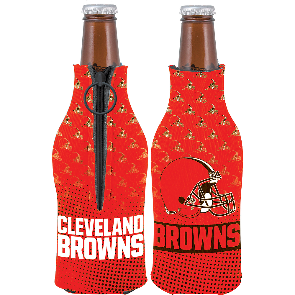 Cleveland Browns Bottle Coozie Image #1