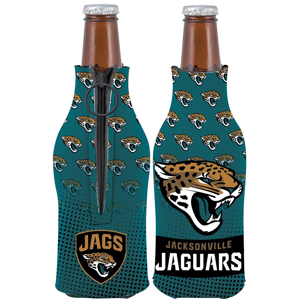 Jacksonville Jaguars Bottle Coozie Image #1