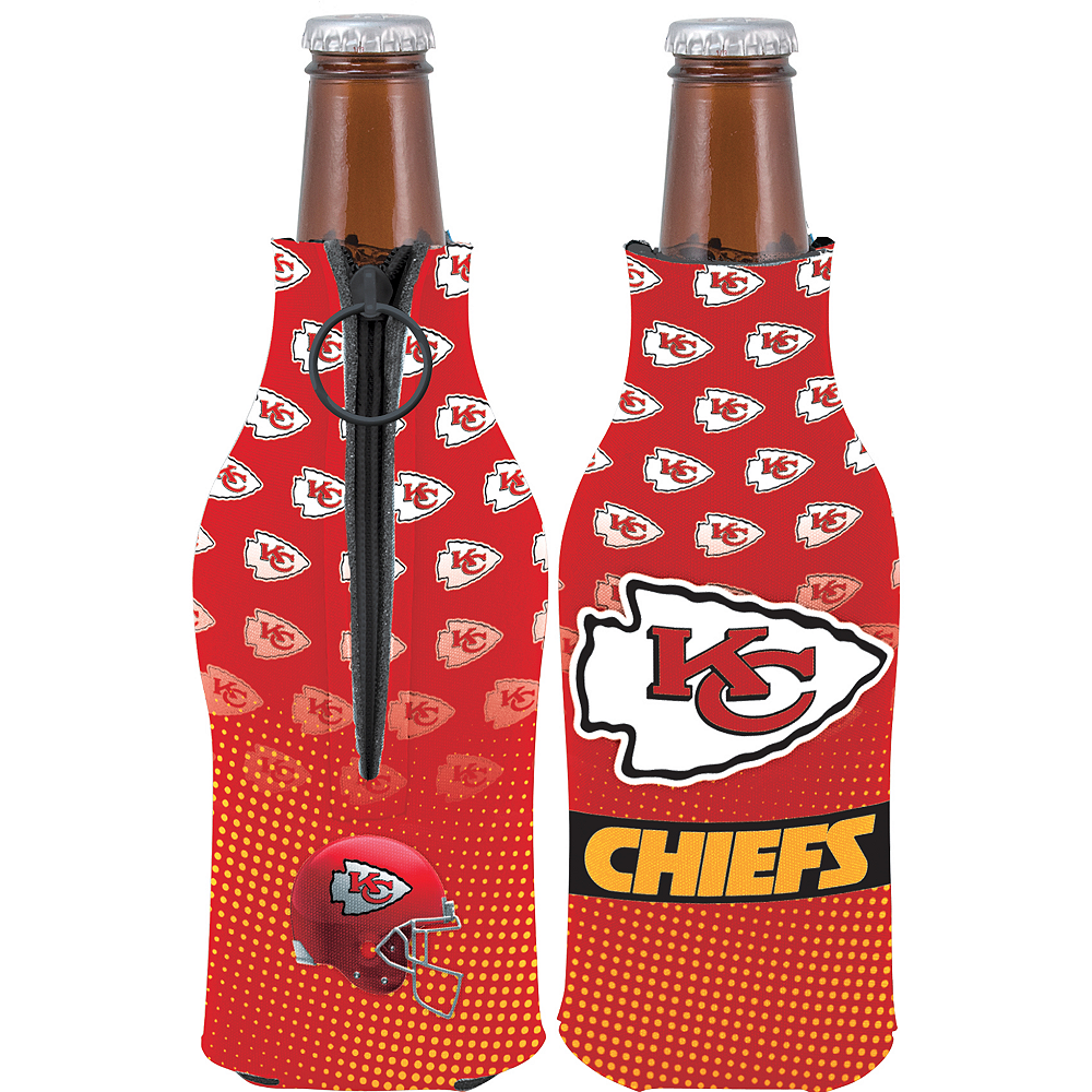 Kansas City Chiefs Bottle Coozie Image #1