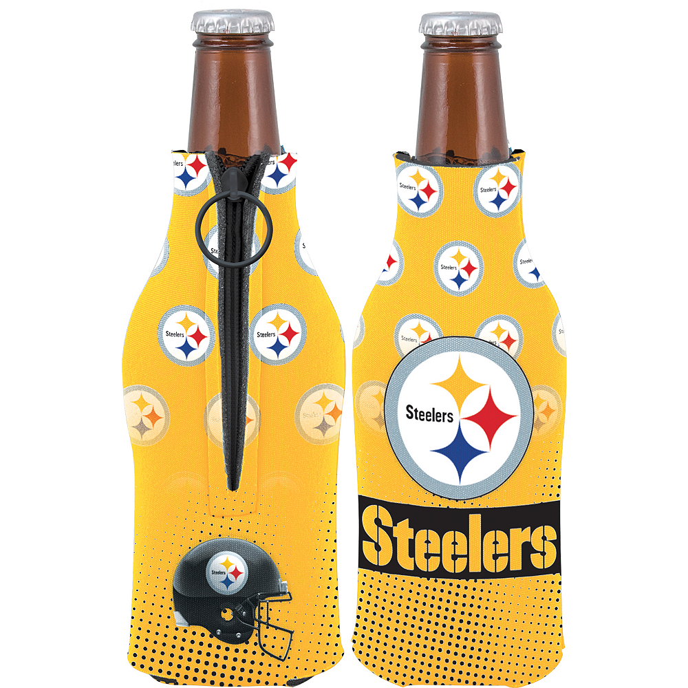 Pittsburgh Steelers Bottle Coozie Image #1