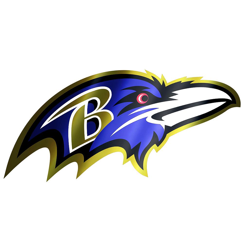 Metallic Baltimore Ravens Sticker Image #1
