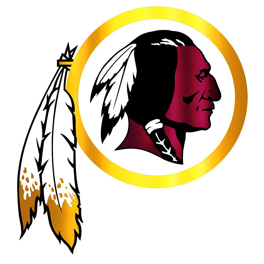 Metallic Washington Redskins Sticker Image #1