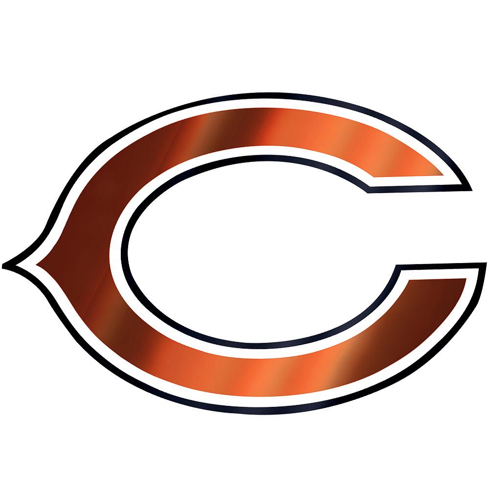 Metallic Chicago Bears Sticker Image #1