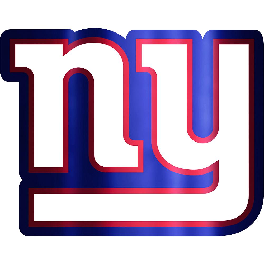 Metallic New York Giants Sticker Image #1