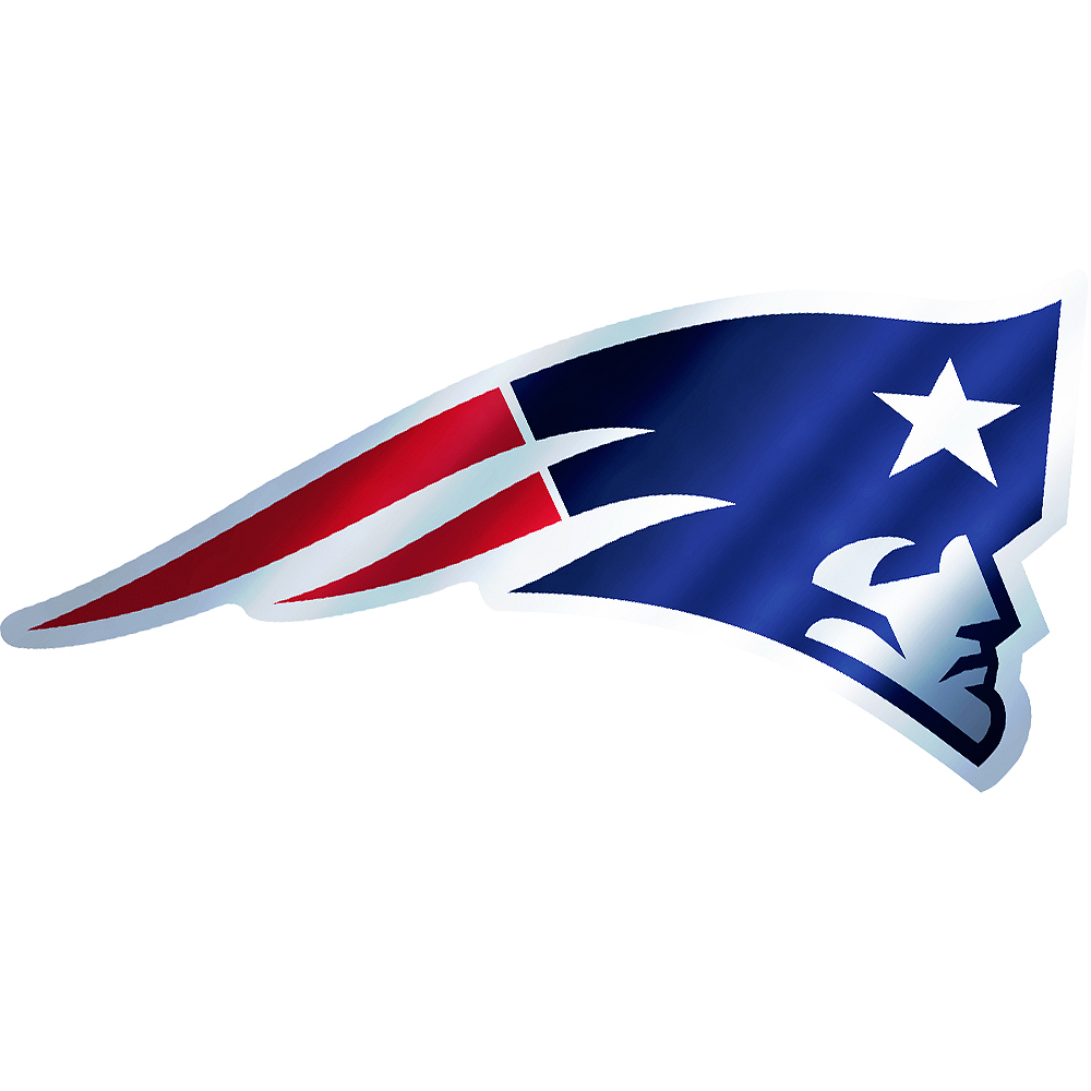Metallic New England Patriots Sticker Image #1