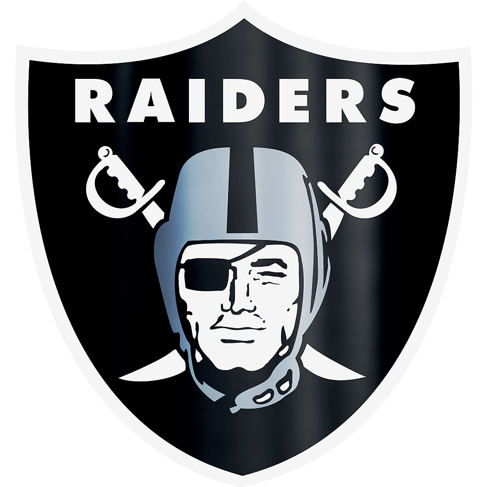 Metallic Las Vegas Raiders Sticker Image #1