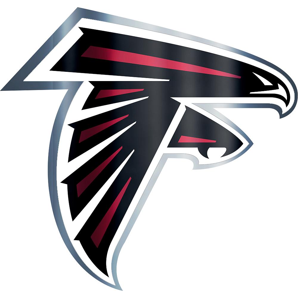 Metallic Atlanta Falcons Sticker Image #1