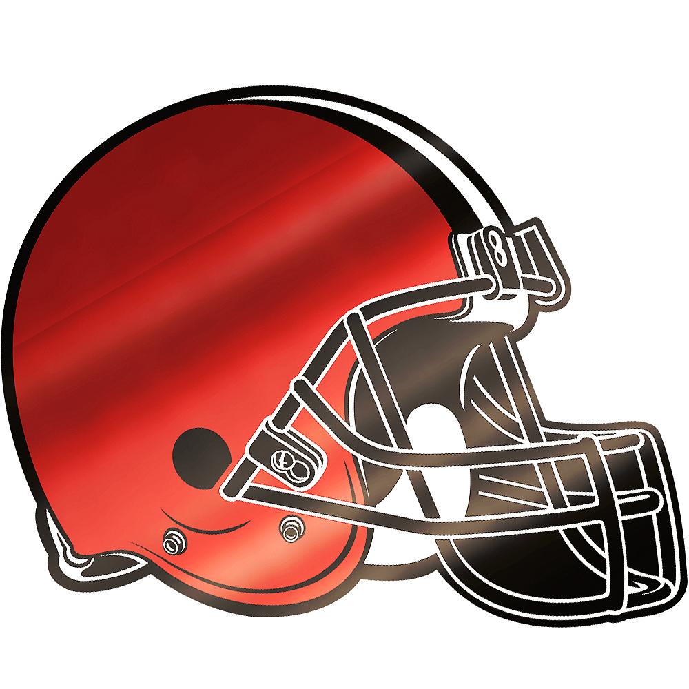 Metallic Cleveland Browns Sticker Image #1