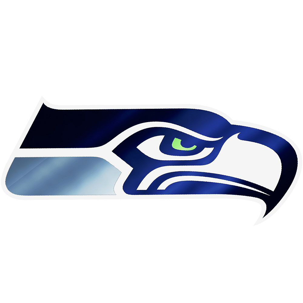 Metallic Seattle Seahawks Sticker Image #1