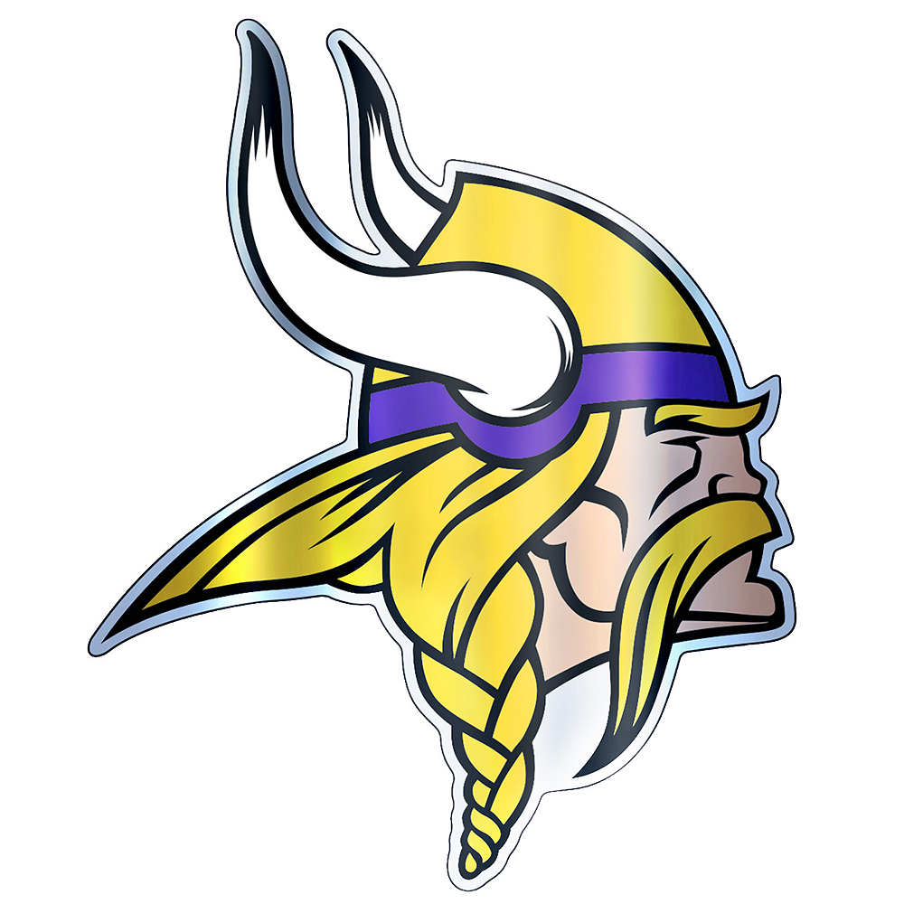 Metallic Minnesota Vikings Sticker Image #1