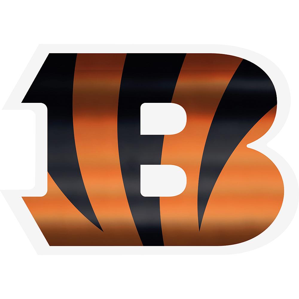 Metallic Cincinnati Bengals Sticker Image #1