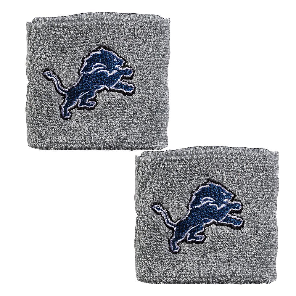 Detroit Lions Wristbands 2ct Image #1
