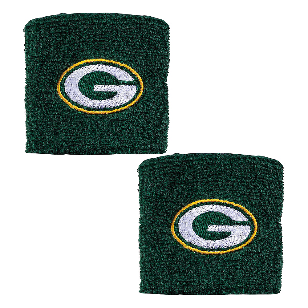 Green Bay Packers Wristbands 2ct Image #1