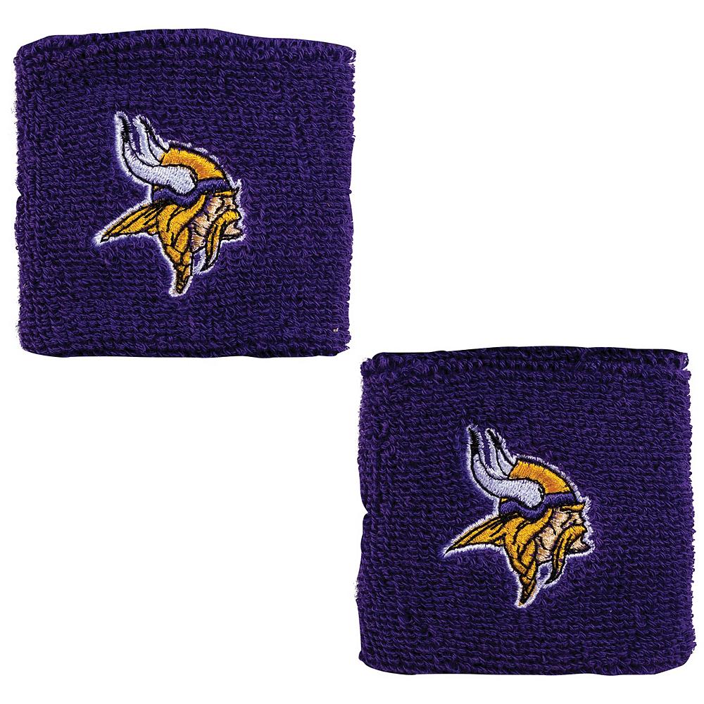 Minnesota Vikings Wristbands 2ct Image #1