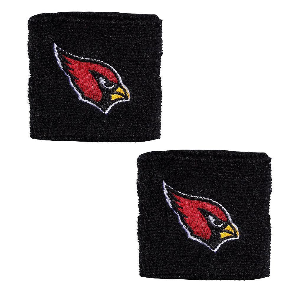 Arizona Cardinals Wristbands 2ct Image #1