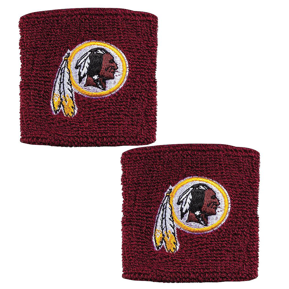 Washington Redskins Wristbands 2ct Image #1
