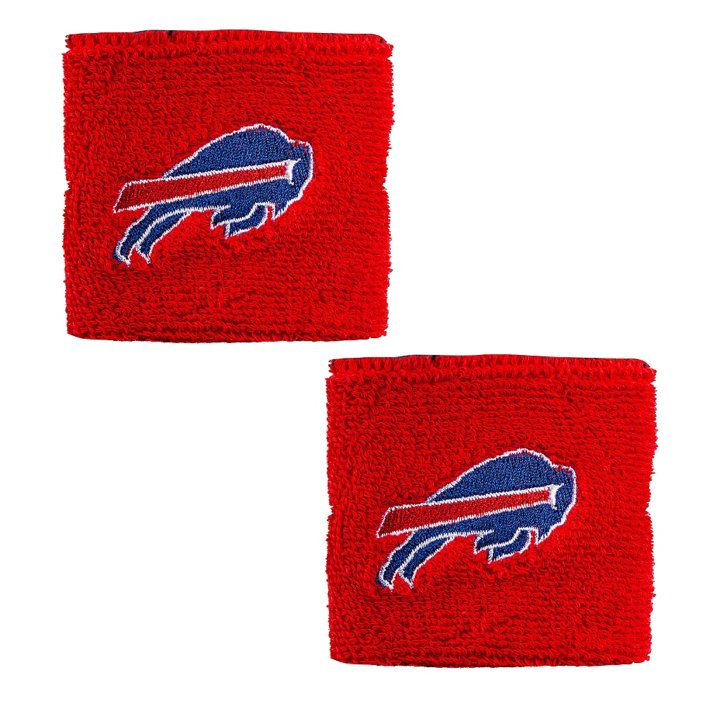 Buffalo Bills Wristbands 2ct Image #1