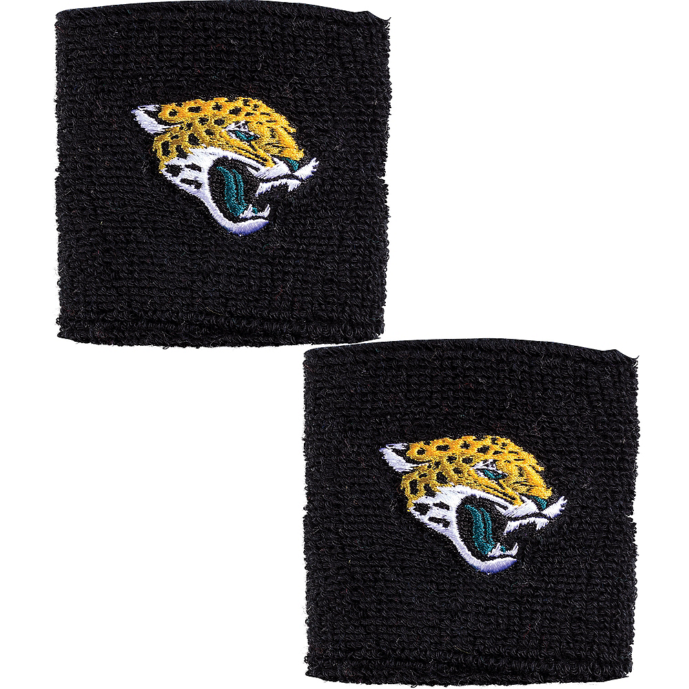 Nav Item for Jacksonville Jaguars Wristbands 2ct Image #1