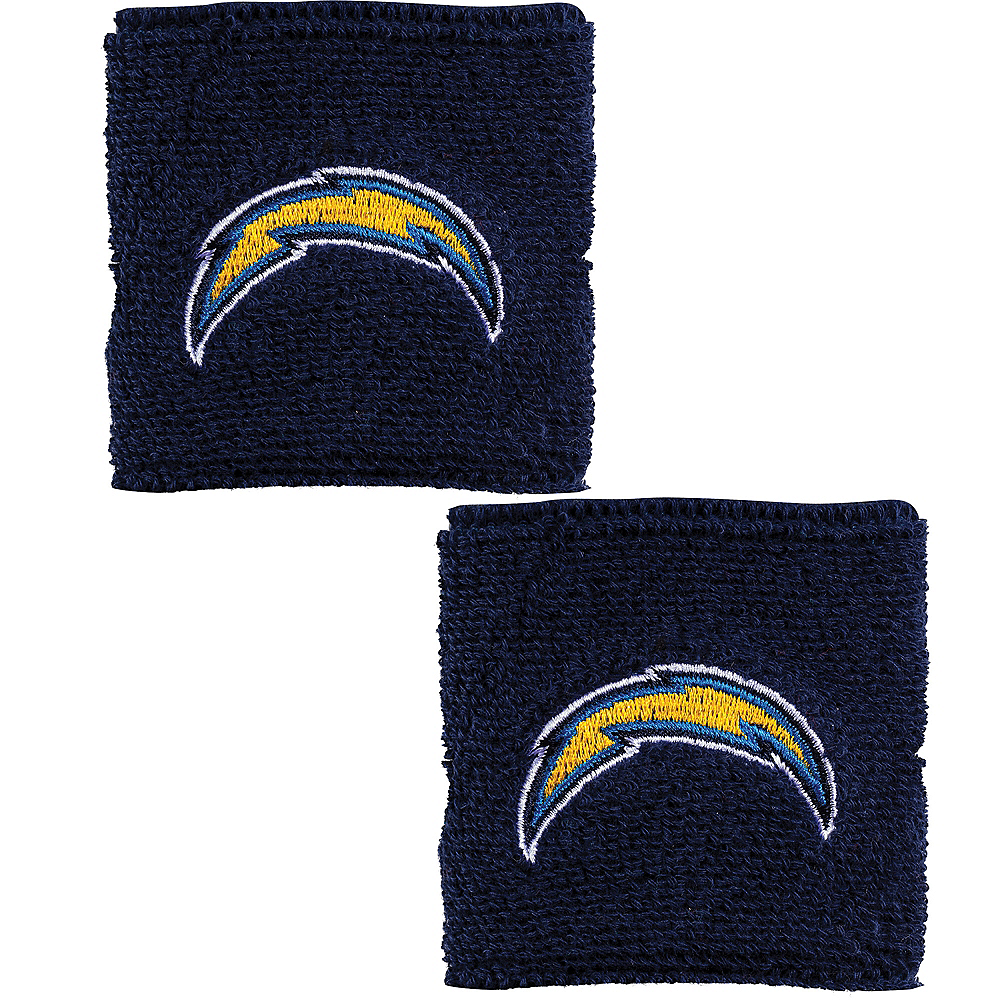 Los Angeles Chargers Wristbands 2ct Image #1
