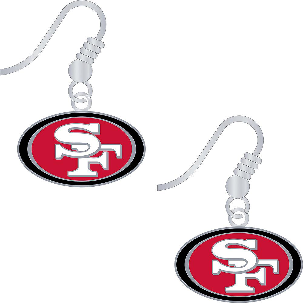 San Francisco 49ers Earrings Image #1