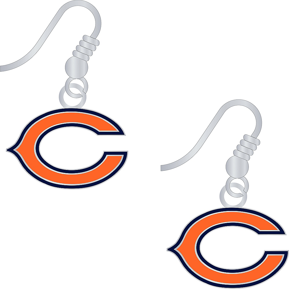Chicago Bears Earrings Image #1