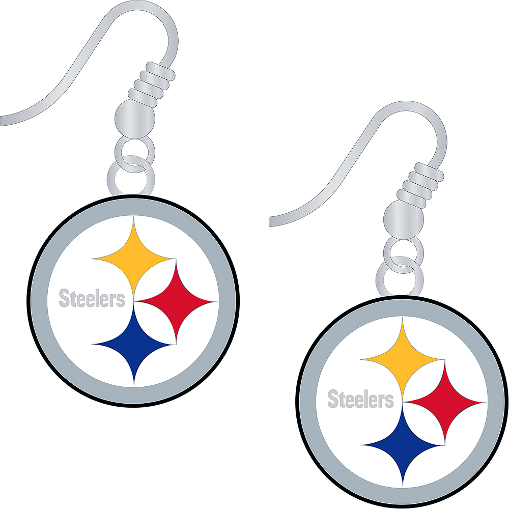Pittsburgh Steelers Earrings Image #1