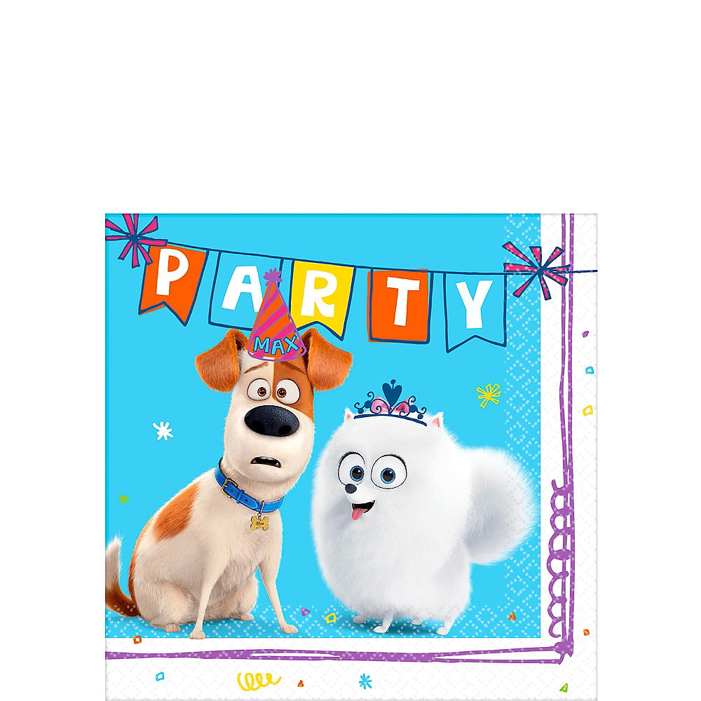 Secret Life of Pets 2 Beverage Napkins 16ct Image #1