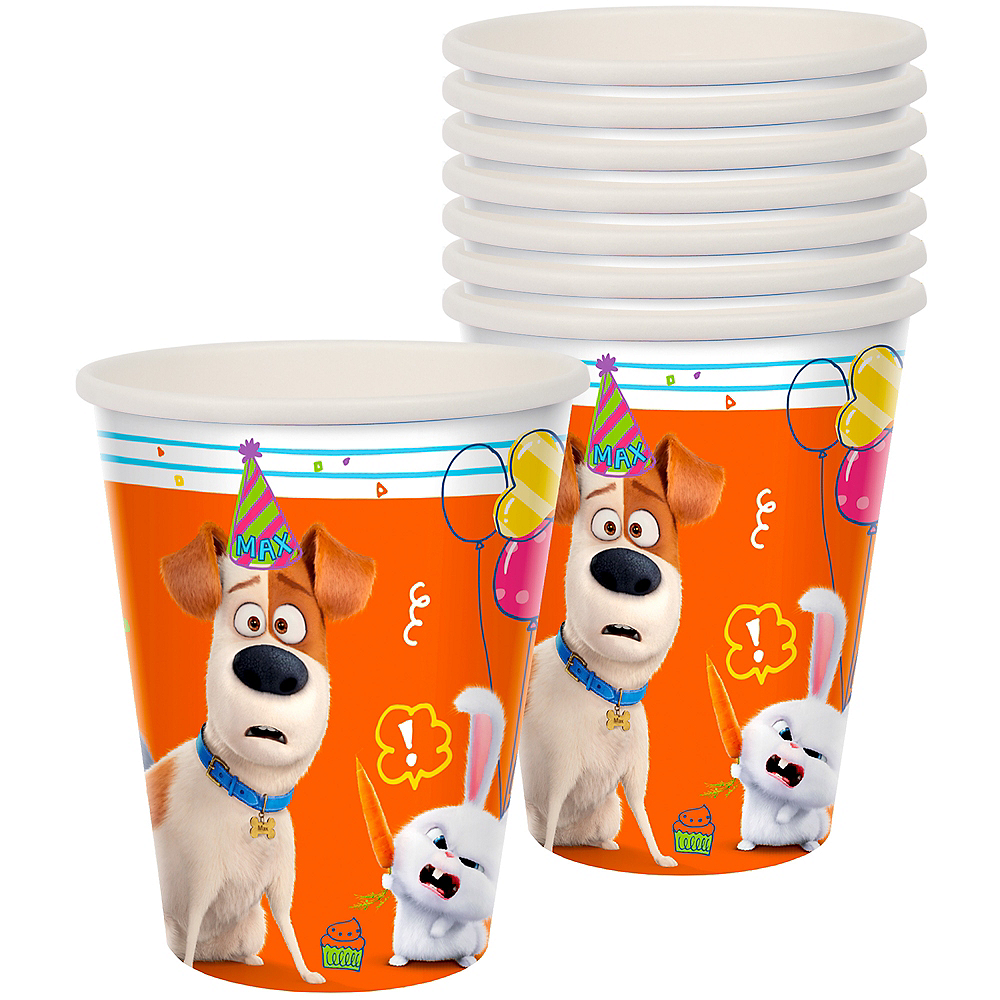 Nav Item for Secret Life of Pets 2 Cups 8ct Image #1