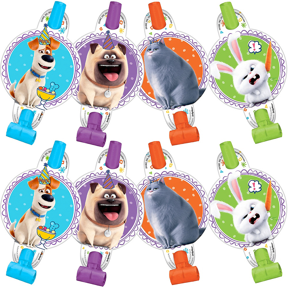 Secret Life of Pets 2 Blowouts 8ct Image #1