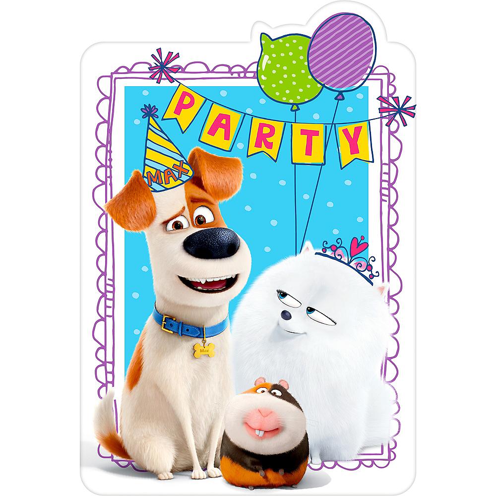 Secret Life of Pets 2 Invitations 8ct Image #1