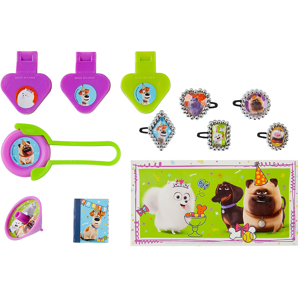 Nav Item for Secret Life of Pets 2 Favor Pack 48pc Image #1