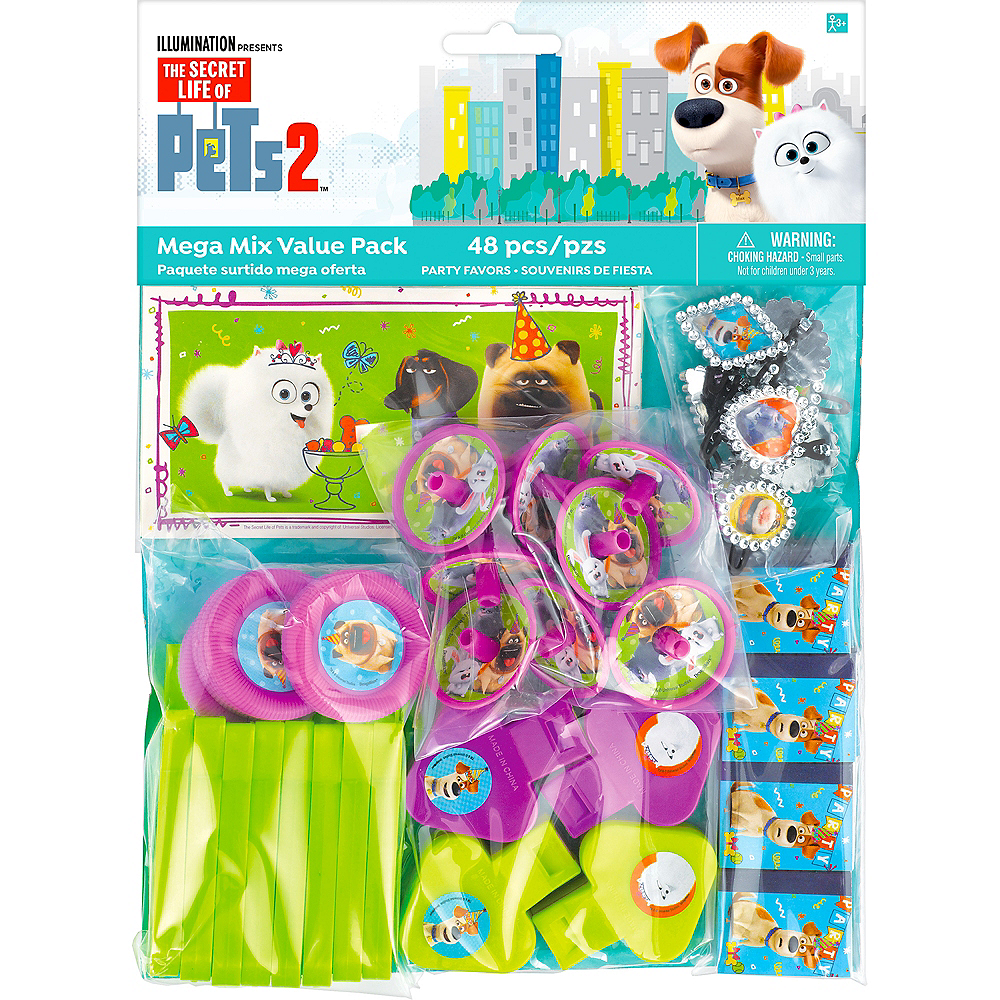 Secret Life of Pets 2 Favor Pack 48pc Image #2