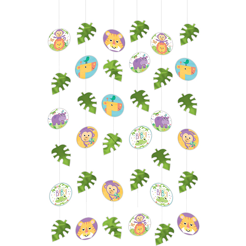 Fisher-Price Hello Baby String Decorations 6ct Image #1