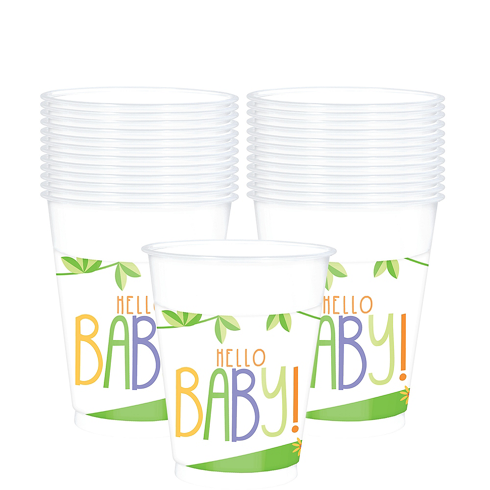 Fisher-Price Hello Baby Plastic Cups 25ct Image #1