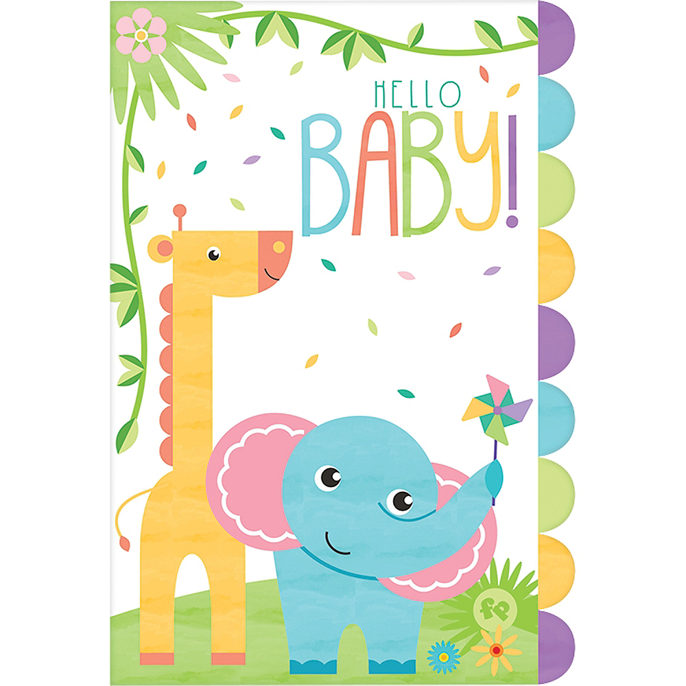 Fisher-Price Hello Baby Invitations 8ct Image #1