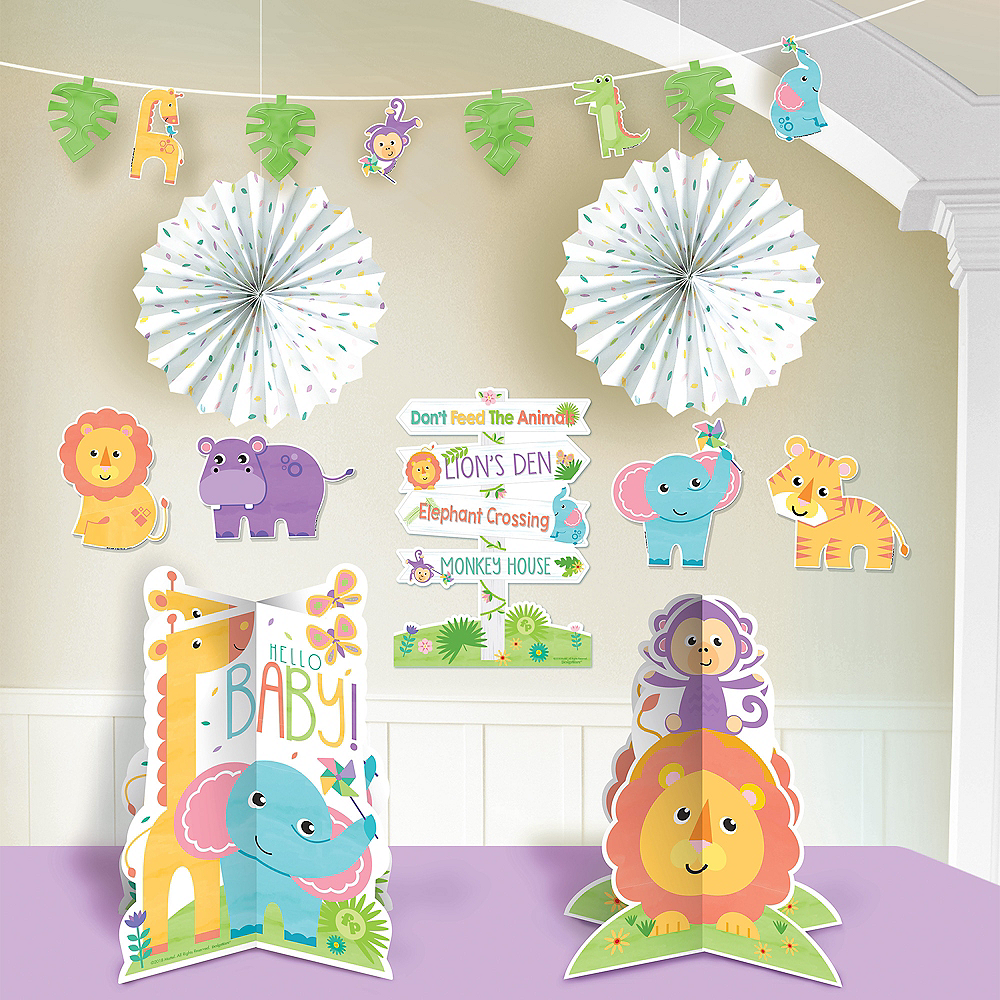 Fisher-Price Hello Baby Room Decorating Kit 10pc Image #1